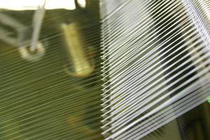 モノフィラメント糸加工
